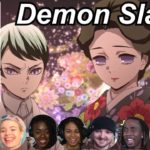 Demon Slayer 1×8 Reactions | Amazing Anime Reactors!!! | 【鬼滅の刃】【海外の反応】