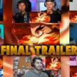 Demon Slayer Kimetsu no Yaiba Reaction【Final Trailer】鬼滅の刃