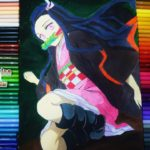 [Drawing  ]绘画- Nezuko彌豆子|Anime -Kimetsu no yaiba[鬼滅之刃]