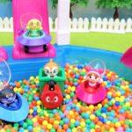 アンパンマン おもちゃ アニメ プールの中にたまご! GoGoミニカー のりもの アニメキッズ