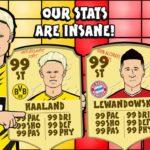 【アニメソング】Lewandowski vs Haaland Rap Battle – Powered by 442oons「20/21 ドイツ ブンデスリーガ」