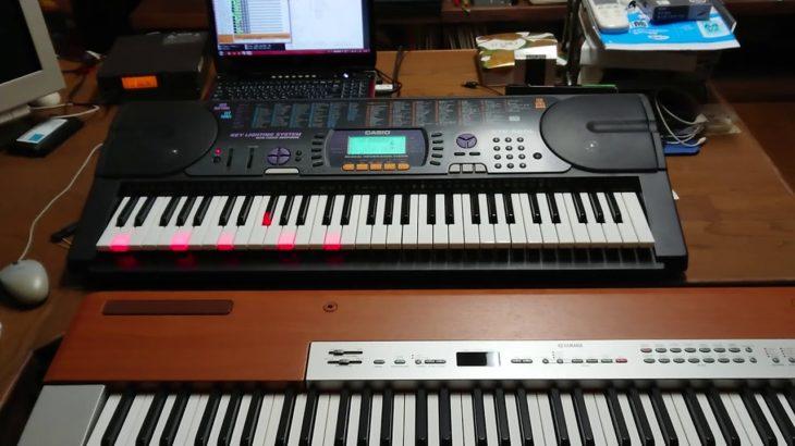 【MIDILiSA演奏/紅蓮華(アニメ『鬼滅の刃』オープニングテーマ)CASIO 光るキーボード自動演奏
