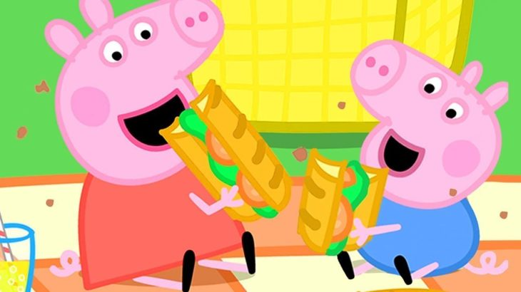 ペッパピッグ ピクニック |1時間 エピソードコンピレーション | 子供向けアニメ