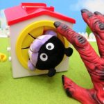 アンパンマン おもちゃ アニメ てさぐりボックス たまごの中にはなにがはいっているのかな? 鬼といっしょにあけちゃうよ! アニメキッズ