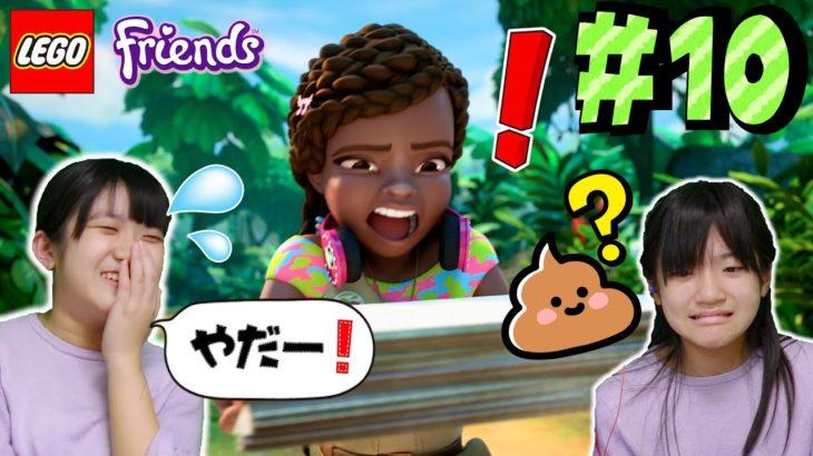 かんあきとみよう!レゴフレンズアニメシーズン4  第10話「思い出いっぱい!ジャングルでやってミッション!」