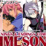 Anime Songs Full アニソンメドレー 妖精帝國 Yousei Teikoku #1 Openings & Endings Compilation 动漫歌曲 (未来日記,聖痕のクェイサー)