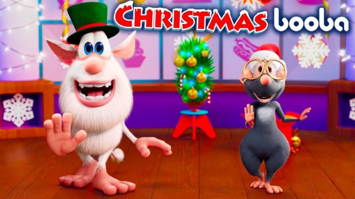 Booba 😉 ブーバ 🎄🐭 Food Puzzles – Christmas 🎩🎅 Kids show ⭐ アニメ短編 | Super Toons TV アニメ