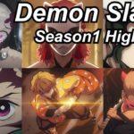 Demon Slayer Season1 Reaction Highlights Part1 | Amazing Anime Reactors!!! | 【鬼滅の刃】【海外の反応】