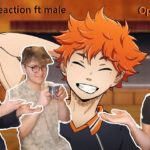 Haikyuu all OPenings (1-7) | Anime Reaction ft. Volleyball player