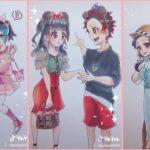 ティックトック絵 | 鬼滅の刃イラスト – Kimetsu no Yaiba Painting TikTok Awesome#0912
