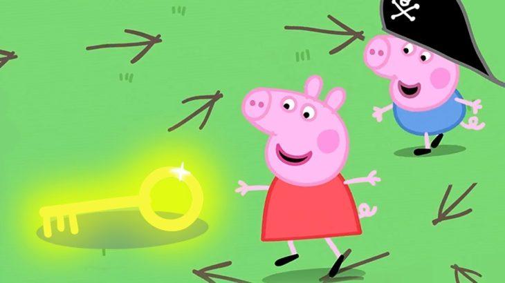 ペッパピッグ | Peppa Pig Japanese | たからさがし 🗻山の日 | 子供向けアニメ