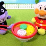 アンパンマン おもちゃ アニメ らーめん バイキンマンにラーメンをつくってあげよう! じょうずにできるかな? アニメキッズ