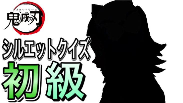 【鬼滅の刃】シルエットクイズ全問正解なるか⁉《初級》【アニメ・クイズ】〜きめつのやいば