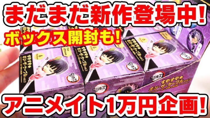 【鬼滅の刃】新作グッズ1万円分開封!すやすやオンザケーブル第三弾配列検証も!