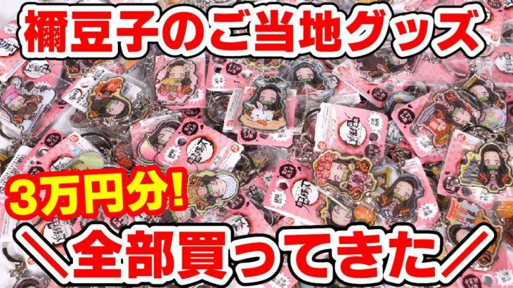 【鬼滅の刃】禰豆子のご当地グッズ全部買ってきた!総計〇〇個!?カナヲはある?新宿マルイに大集結!!