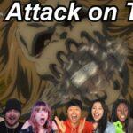 Attack on Titan 4×7 Reactions | Great Anime Reactors!!! | 【進撃の巨人】【海外の反応】