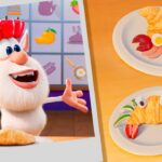 Booba 😉 ブーバ ⭐ New 新エピソード 🐭 Food Puzzles – Croissant 🥐🥐  Kids show ⭐ アニメ短編 | Super Toons TV アニメ