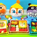 アンパンマン!おもちゃ アニメ☆【幼稚園】お弁当をつくってピクニック♡どのお弁当がすきかな?【パズル 】