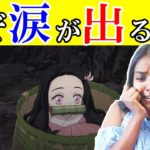 【海外の反応】小さくなった禰豆子を見て泣いてしまうインド人ネキのリアクション 日本語字幕【鬼滅の刃】