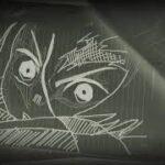 授業中に描いてみた 鬼滅の刃 ヒノカミ神楽