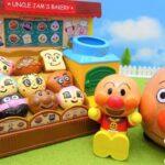 アンパンマン おもちゃ アニメ ジャムおじさんのパン工場  アンパンマン号 パンのはいたつをするよ! アニメキッズ