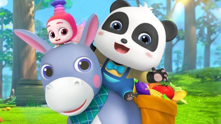かわいいろば | 赤ちゃんが喜ぶ歌 | 子供の歌 | 童謡 | アニメ | 動画 | ベビーバス| BabyBus
