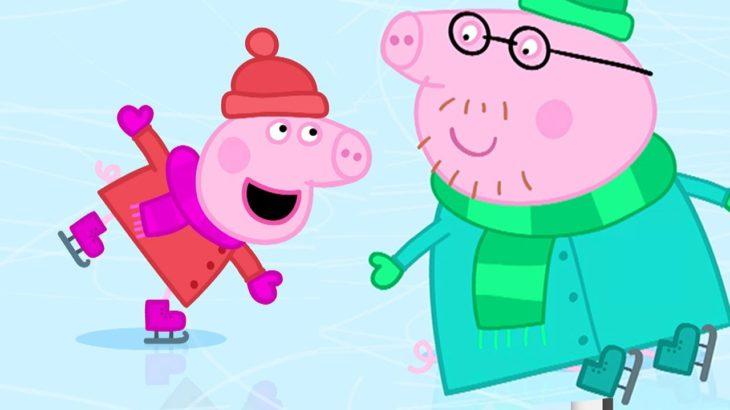 ペッパピッグ | Peppa Pig Japanese | アイススケート | 子供向けアニメ
