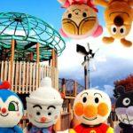 アンパンマン!おもちゃ アニメ☆公園でかくれんぼ♡みんな、どこにいるのかな? きれいな虹がみえたよ♫ Hide and Seek in the park 【公園】【すべり台】【わくわく】