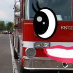 【 doodles アニメ 】はたらくくるま 消防車 , 飛行機 , でんしゃ 他 から 顔が出現する ドッキリ ?  おもしろ動画