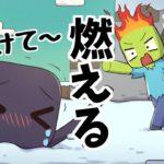 【アニメ】雪に埋まったエンダーさんを助ける話【マインクラフト】