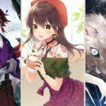 ティックトック絵・鬼滅の刃イラスト・Kimetsu no Yaiba Painting 💖 Takuma Anime#8