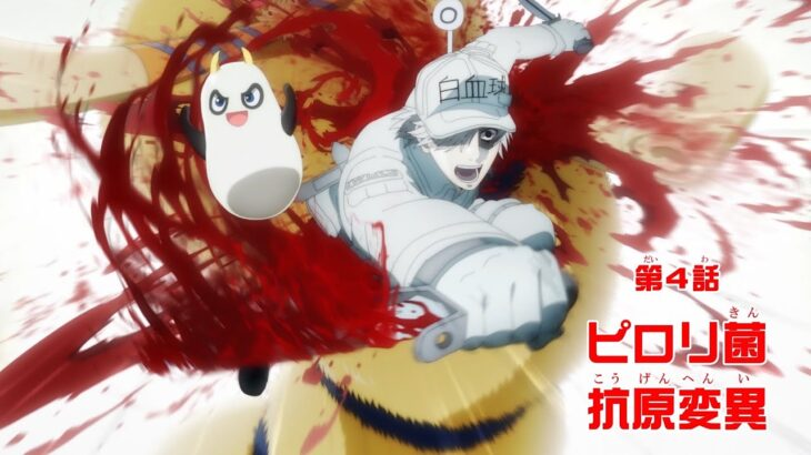 TVアニメ「はたらく細胞!!」第4話 WEB予告